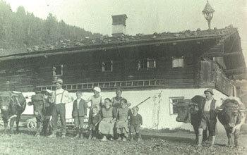 Bio-Bauernhof Langbruckgut - damals