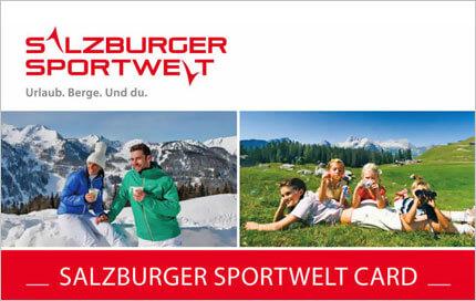 Urlaub Eben im Pongau - Salzburger Sportwelt - Vergünstigungen - Salzburger Sportwelt Card