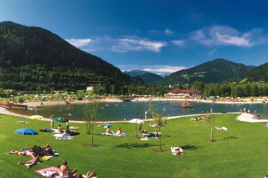 Erlebnisbadesee Eben im Pongau, Salzburger Land