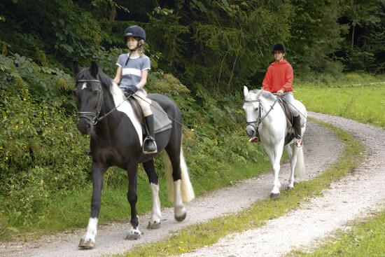 Reiten in Eben im Pongau, Salzburger Land