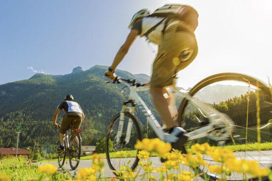 Radfahren & Mountainbiken im Salzburger Lang, Eben im Pongau