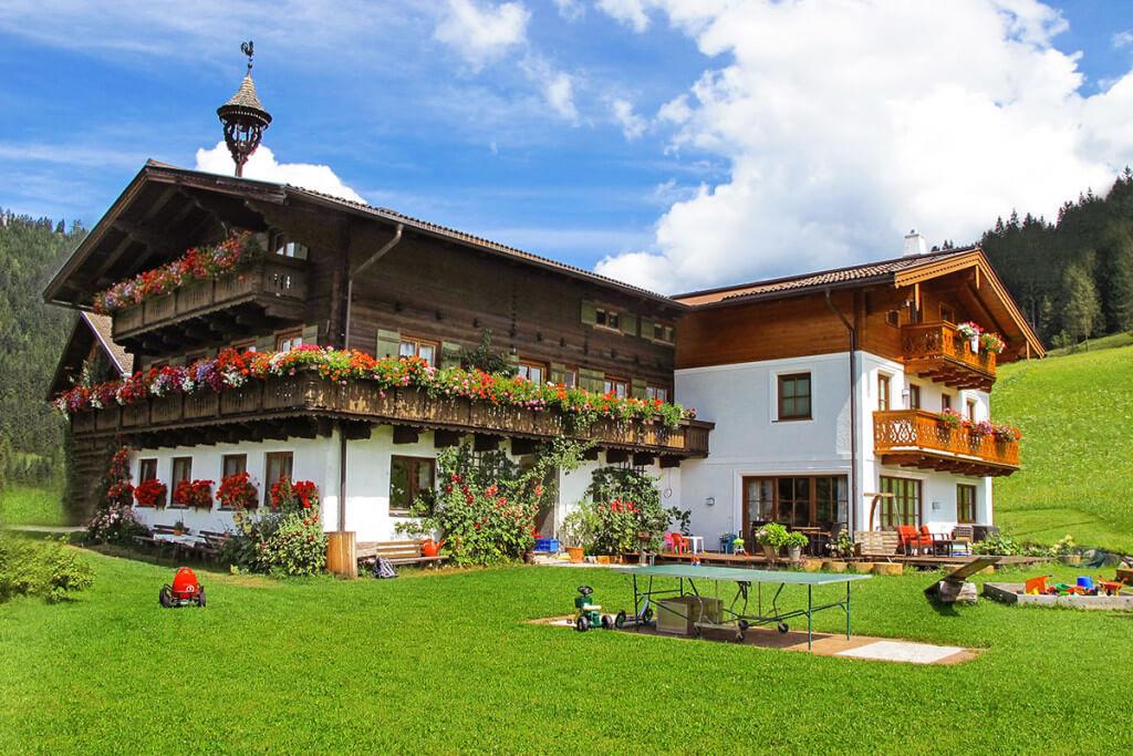Urlaub am Bauernhof - Salzburger Land -Langbruckgut - Kontakt & Anreise