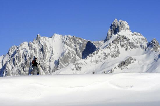 Schneeschuhwandern in Eben im Pongau, Salzburger Land
